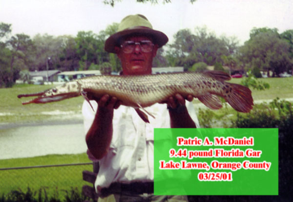 Big catch florida state record for Florida state fish